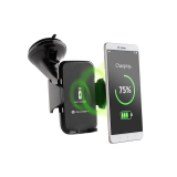 Držák na mobil GoGEN s bezdrátovým nabíjením, fastcharge, černý
