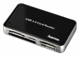 Hama USB 3.0 All in One černá/stříbrná