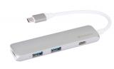 Verbatim USB-C ,2x USB 3.0, HDMI šedý