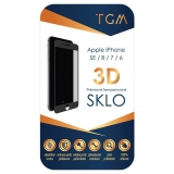TGM 3D na Apple iPhone 6/7/8/SE (2020) černé