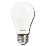 McLED E27, 9,4 W, neutrální bílá 4000K