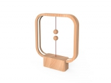 Powercube Heng Balance Square USB - Light Wood