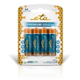 ETA PREMIUM ALKALINE AA, LR06, blistr 4ks