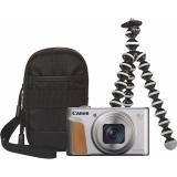 Canon PowerShot SX740 HS, TRAVEL KIT stříbrný