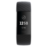 Fitbit Charge 3 - Graphite, Black