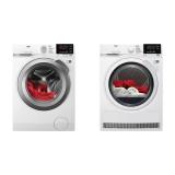 Set (Sušička prádla AEG AbsoluteCare® T8DBG48WC) + (Automatická pračka AEG ProSense™ L6FEG49SC)