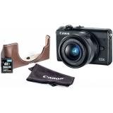 Canon EOS M100 + EF-M 15-45mm + EH31FJ + 16GB  černý