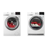 Set (Automatická pračka AEG ProSense™ L6FEG49SC) + (Sušička prádla AEG AbsoluteCare® T8DBG49SC)