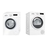 Set (Sušička prádla Bosch WTR85V00CS) + (Automatická pračka Bosch WAN28260CS)
