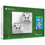 Microsoft Xbox One S 1 TB + 2 ovladače + FIFA 19
