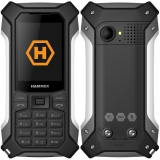 myPhone Hammer Patriot černý/stříbrný