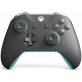 Microsoft Xbox One Wireless - grey/blue