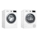 Set (Automatická pračka Bosch WAT286H1BY) + (Sušička prádla Bosch WTWH761BY)