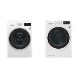 Set (Automatická pračka LG F84J6TY1W) + (Sušička prádla LG RC82EU2AV4W)