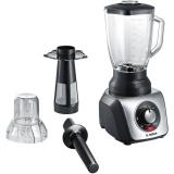 Bosch SilentMixx Pro MMB66G7M černý/stříbrný
