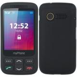 myPhone Halo S Senior černý