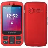 myPhone Halo S Senior červený