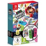 Nintendo SWITCH Joy-Con zelená/růžová + hra Super Mario Party