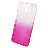 Beeyo Diamond Frame pro Samsung Galaxy J6+ růžový