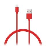 Connect IT Wirez USB/Lightning, 1m červený