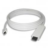 PremiumCord Mini DisplayPort 1.2 / HDMI 2.0, 1m bílý