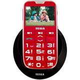 Tesla SimplePhone A50 červený