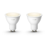 Philips Hue 5,5W, GU10, White (2ks)