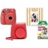 Fujifilm Instax mini 9 + pouzdro červený