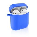Celly Aircase pro Apple AirPods + nástavce do uší modré