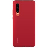 Huawei Silicone Car Case pro P30 červený