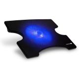 """Connect IT Cool-ICE, modré podsvícení, pro 15"""" černá"""