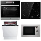 Set (Mikrovlnná trouba Mora VMT 312 X) + (Myčka nádobí Mora IM 651) + (Indukční varná deska Mora VDIT 650 FF) + (Trouba Mora VT 657 BX)