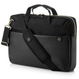 """HP Pavilion Accent Briefcase pro 15"""" černá/zlatá"""