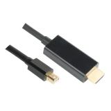 GoGEN HDMI / mini DisplayPort, 2m, pozlacený černý