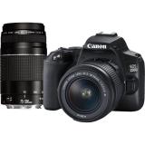 Canon EOS 250D + 18-55 DC + 75-300 DC černý