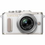 Olympus E-PL8 + 14-42 Kit stříbrný/bílý