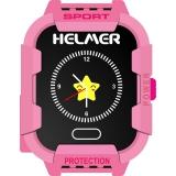 Helmer LK 708 dětské s GPS lokátorem růžový
