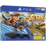 Sony PlayStation 4 1 TB + Crash Team Racing + 2x ovladač černá
