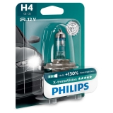 Philips X-tremeVision H4, 1ks