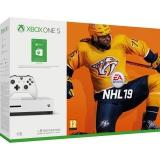 Microsoft Xbox One S 1 TB + NHL 19 + 150 Kč do Xbox Store
