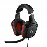 Logitech Gaming G332 černý/červený
