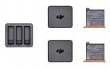 DJI pro Osmo Action, nabíječka + 2 baterie