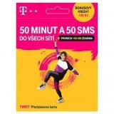 T-Mobile Plaťte za data - Hlasová předpl. karta