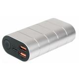 Verbatim 10000 mAh, USB-C PD, QC 3.0 stříbrná