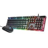Trust GXT 838 Azor Gaming Combo, CZ/SK černá