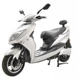 Elektrický motocykl RACCEWAY EXTREME, stříbrný-lesklý
