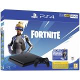 Sony PlayStation 4 500 GB + Fortnite balíček 2000 V Bucks černá