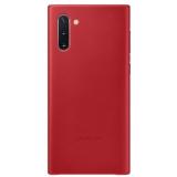 Samsung Leather Cover pro Galaxy Note10 červený