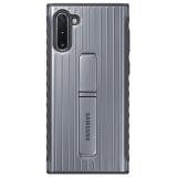 Samsung Standing Cover pro Galaxy Note10 stříbrný