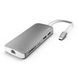 Hama USB-C/2x USB, HDMI, LAN, SD, Micro SD